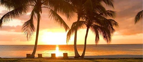 Viajes a Punta Cana - Bello atardecer en Playas de Puntacana