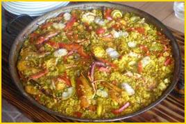Viajes a Punta Cana - Uno de los platos más sabrosos de puntacana: Pulpo cojo Paella... mmm!