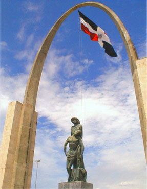 Viajes a Santo Domingo - Vista parcial de la Plaza de Santo Domingo.