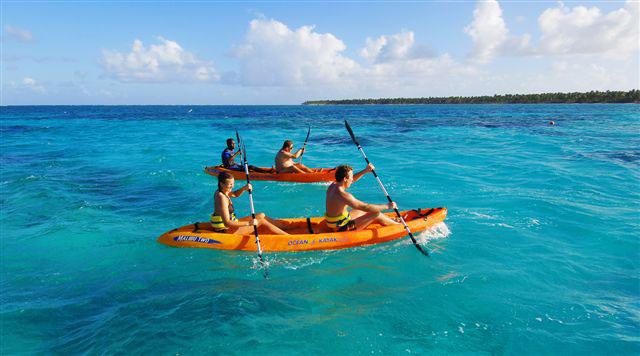Reef Explorer Tour, paseo en Kayak