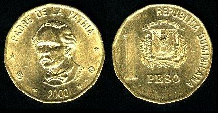 Un peso dominicano.