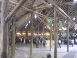 Interior del aeropuerto de Punta Cana.