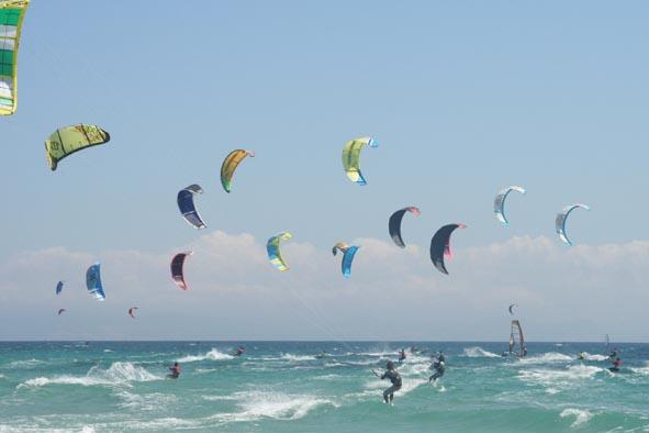 Kitesurf en Punta Cana un deporte muy popular.