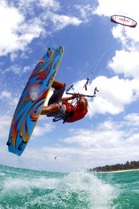 Deportes en Punta Cana: Kitesurf.