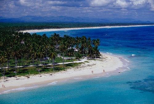 Vista aérea de Playa Bávaro.