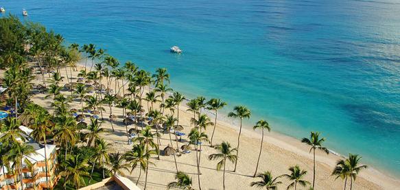 Vista aérea de playa El Cortecito.