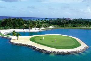 Punta Cana Golf campos de alto nivel con espectaculares vistas.
