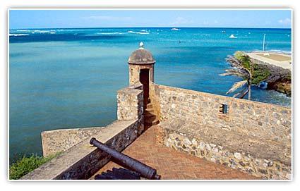 Fortaleza de San Felipe en República Dominicana.