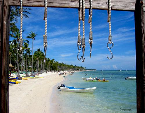 Turismo Santo Domingo: Playa Bávaro una de las más bellas.
