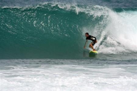 Playa Cabarete lugar de torneos mundiales de surf.