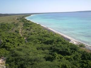 Bahia De Las Aguilas: Parque Nacional Jaragua.